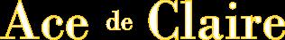 Ace de Claire Logo
